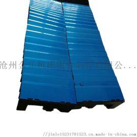 上海M7150A平面磨床导轨防护罩伸缩盔甲防尘罩
