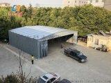 广州花都楼顶遮阳篷 拆装简易活动雨棚 雨篷伸缩配件