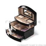 首飾盒手飾品戒指項鏈大容量收納歐式  奢華收納盒