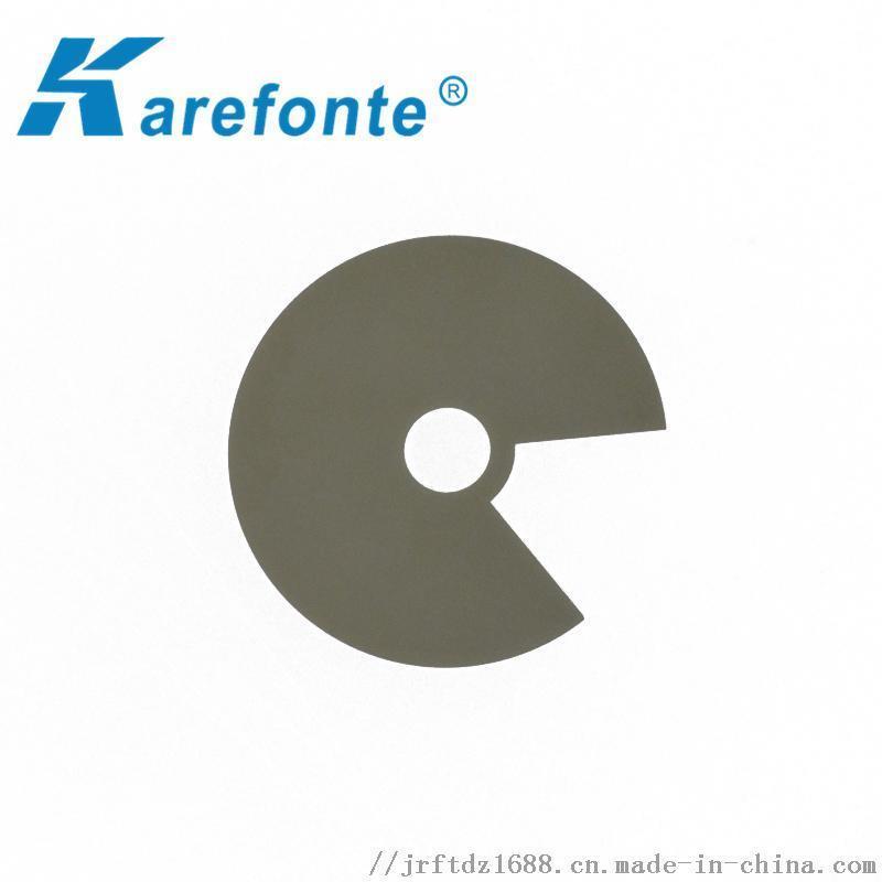 耐高溫導熱陶瓷片定做 氮化鋁工業級發熱陶瓷片