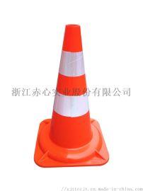 交通道路安全PVC锥反光防晒防撞47塑料路锥厂家