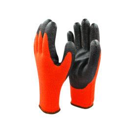 10针加厚橘色丁腈发泡手套