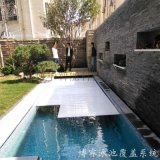博睿品牌 一對一定製 經久耐用 PVC浮條泳池蓋 電動泳池蓋