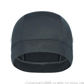 户外运动骑行小帽速干透气自行车内胆内衬帽圆边帽头套