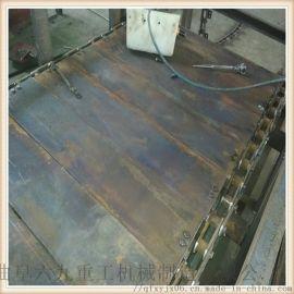 链板式输送机制造厂家 金属板链输送线 Ljxy 爬