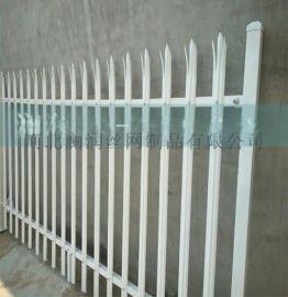 小区别墅庭院围墙塑钢护栏草坪PVC栅栏变压器PVC塑钢护栏批发
