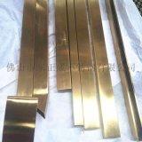 湖南无指纹镜面304不锈钢钛金方管厂家直销
