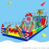 江苏常州儿童充气滑梯城堡蹦蹦床带来许多欢乐