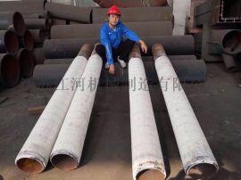铝陶瓷保护氧化管 常州耐磨管道 江河机械