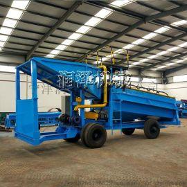 挖沙选金筛金设备 砂金开采选矿设备