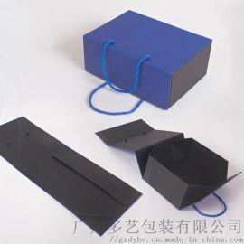 广州精品折叠盒厂家专业定制茶叶礼品包装盒定制