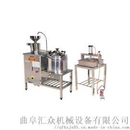 全自动豆腐皮机设备 商用石磨豆腐机 圣兴利 流水豆