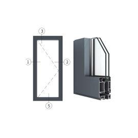 广东兴发铝材创高AL6024A|B系列内平开门