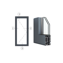 廣東興發鋁材創高AL6024A|B系列內平開門