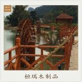 重庆景观水车,重庆防腐木水车厂家,防腐木水车定制