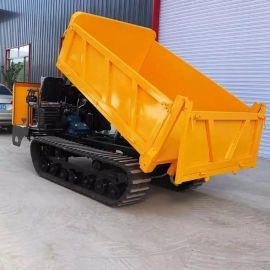 双履带柴油动力搬运车 沃特全地形液压卸车运输车