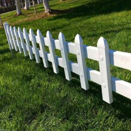四川南充pvc围栏栅栏 绿化围栏护栏