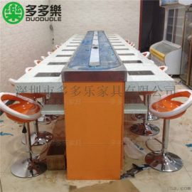 深圳旋转小火锅吧台回转设备厂家  包送货安装