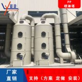 PP喷淋塔立式酸雾废气净化处理设备