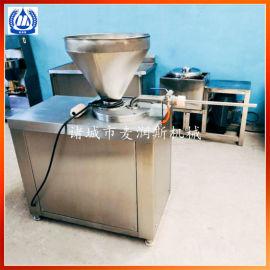 腊肠加加工线商用液压灌肠机灌香肠机气动结扎灌肠机