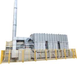印刷厂废气处理设备 车间VOC废气治理设备
