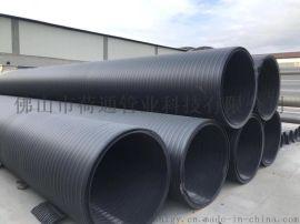 直销HDPE中空壁缠绕排水管