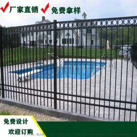 肇庆铁艺护栏 户外道路两侧栏栅 湛江公园铁艺围栏