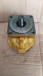 泊姆克齿轮泵P7600-F100NO367 6G配套临工20吨压路机 齿轮泵