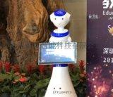 迎宾机器人产品讲解循环宣讲服务机器人