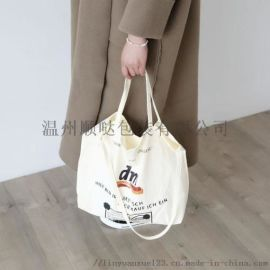 厂家批发手提棉布袋定制 帆布袋定做 帆布购物袋
