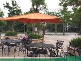 廠家新推戶外休閒桌椅--純鋁質花園桌椅