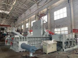 陶庄不锈钢金属压块315吨,铁皮压块打包机维修