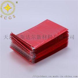 红色防震防水镀铝膜气泡袋 服装镀铝膜气泡信封袋订做