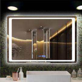 源头厂家供应LED化妆镜,智能除雾浴室镜现货