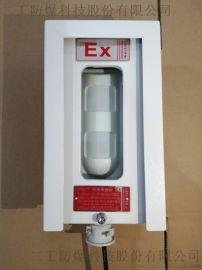 户外防雨管廊项目用红外探测器光栅防爆护罩生产厂家