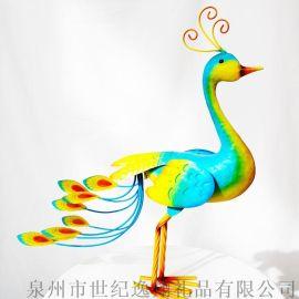 厂家直销花园插件花园装饰动物插件立体孔雀插件