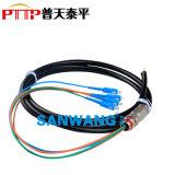 SC防水尾缆 SC-4芯防水单模/多模光纤连接器