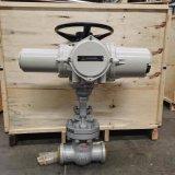 焊接電動閘閥配引進型智慧執行器Z961H-100 DN80