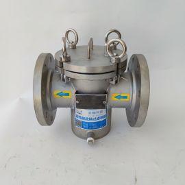 不锈钢美标篮式过滤器 可定制管道过滤器