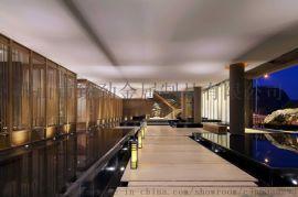 不锈钢屏风隔断花格金属镂空客厅玄关装饰