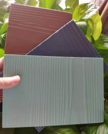 防火木纹板 木丝水泥板 木纹水泥挂板厂家
