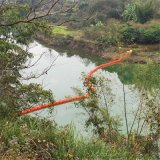 河流一體式串聯懸掛塑料攔污浮筒