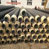 供暖聚氨酯保温管 预制直埋保温螺旋钢管