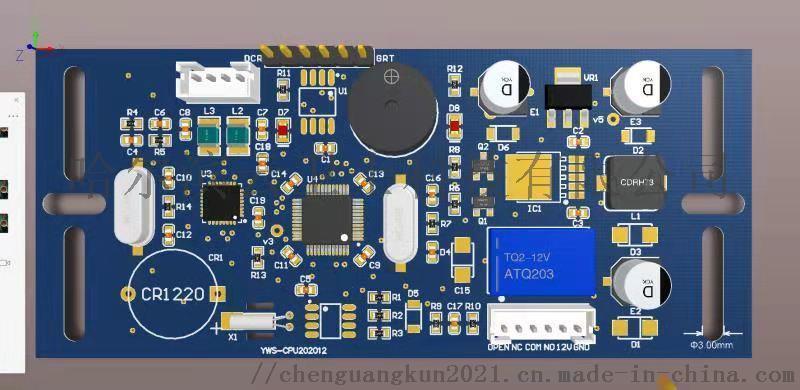 YWE-CPU202012 门禁读卡器