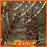 商場中庭裝飾  氣球掛件  節日展示展覽