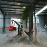 挖掘机可坐 链斗式垂直加料机 六九重工 农田灌溉