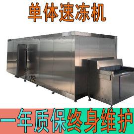 阿胶隧道式速冻机 食品速冻设备