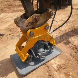挖掘机打夯机 高频振动夯实器 液压夯土机