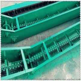 fu型链式输送机 刮板材质 LJXY 矸石刮板输送