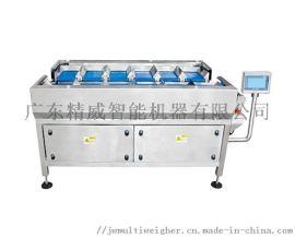 定制半自动手工加料多头定量组合秤冷冻品皮带包装机